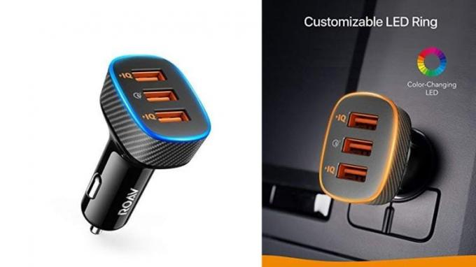 Roav SmartCharge Halo Car Charger